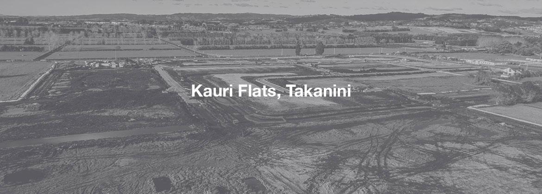 Kauri Flats, Takanini